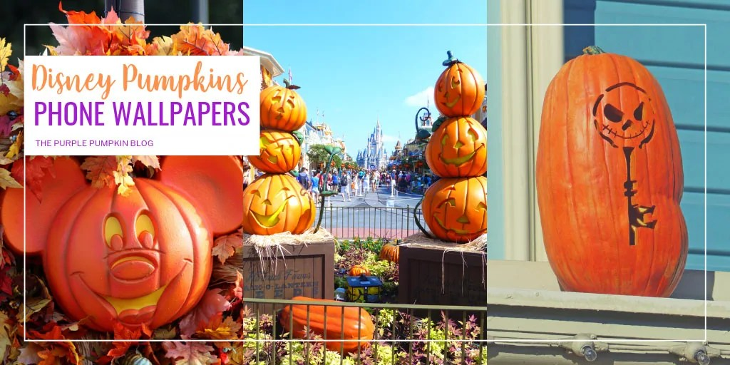 Disney Pumpkins Phone Wallpapers