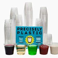Small (1oz) Plastic Shot Glasses