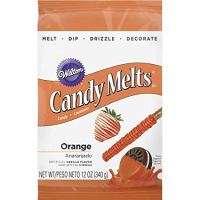 Wilton Orange Candy Melts