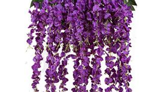 Purple Flower Garlands