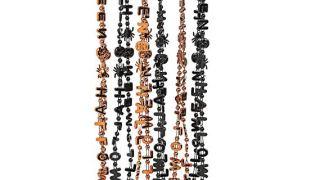 Halloween Bead Necklaces