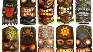 Hand Carved Tiki Masks