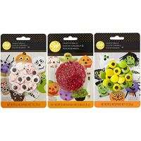 Wilton Halloween Candy Eyeballs Set, 3-Packs