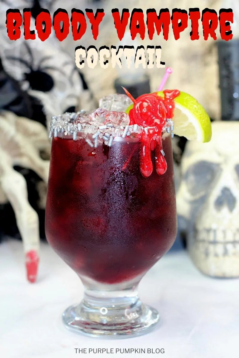 Bloody Vampire Cocktail for Halloween