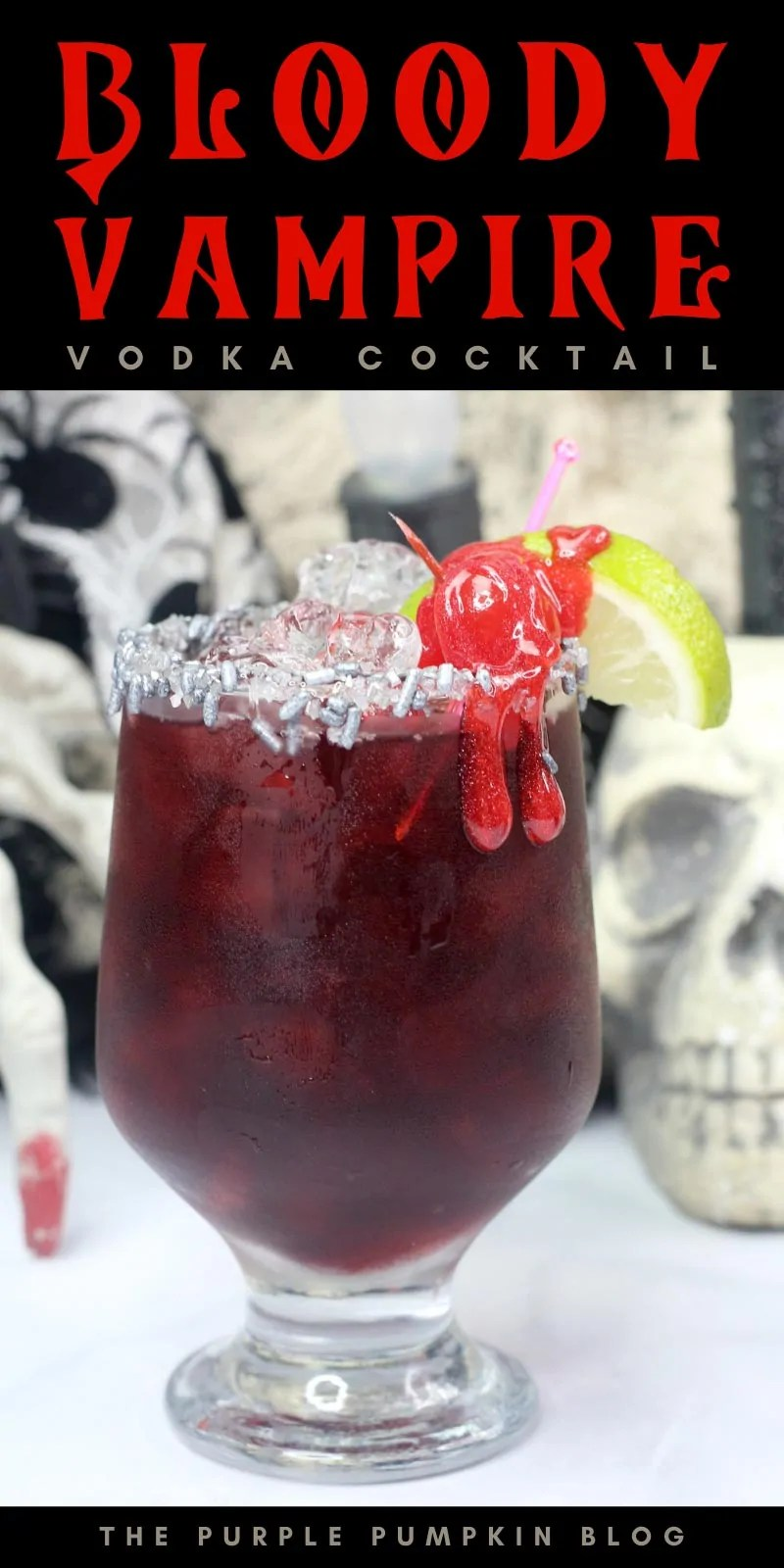 red vodka cocktail