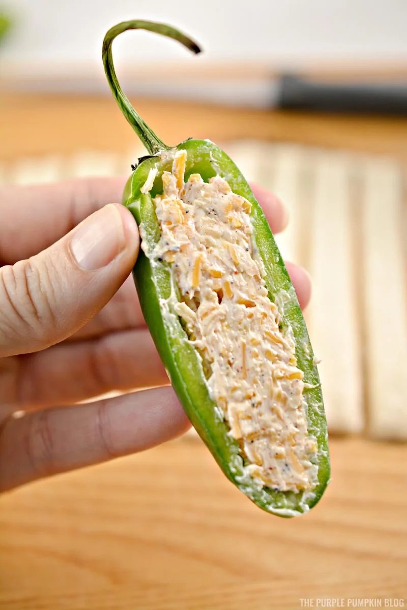 Cheese-Stuffed Jalapeñ Pepper