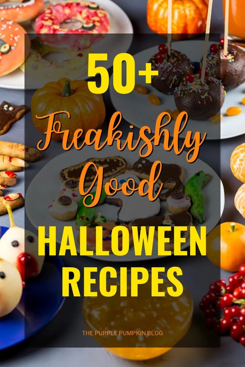 50+ Freakishly Good Halloween Recipes