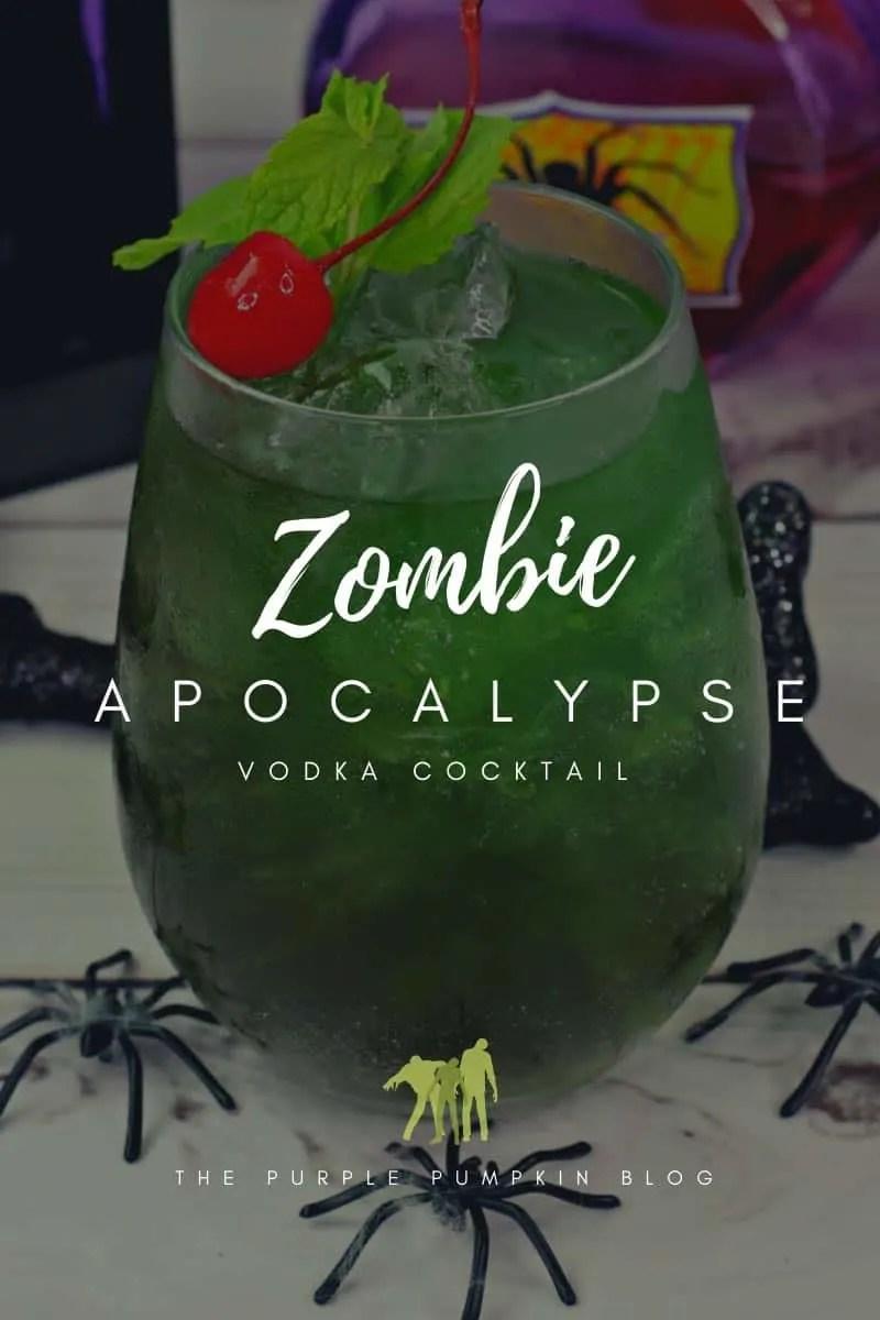 zombie vodka cocktail