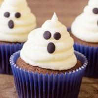 Halloween Ghost Cupcakes Recipe