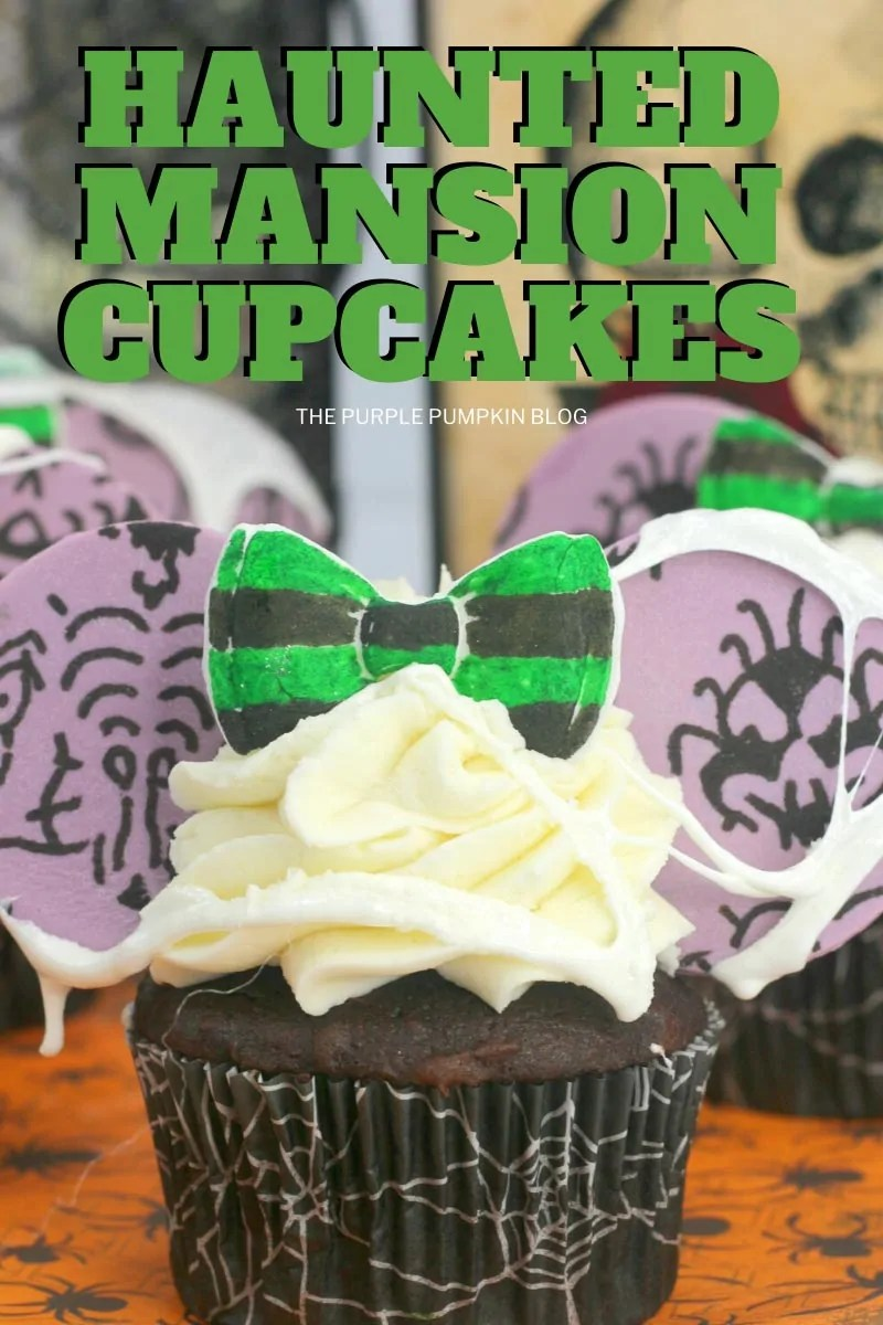 Haunted-Mansion-Mickey-Ears-Cupcakes