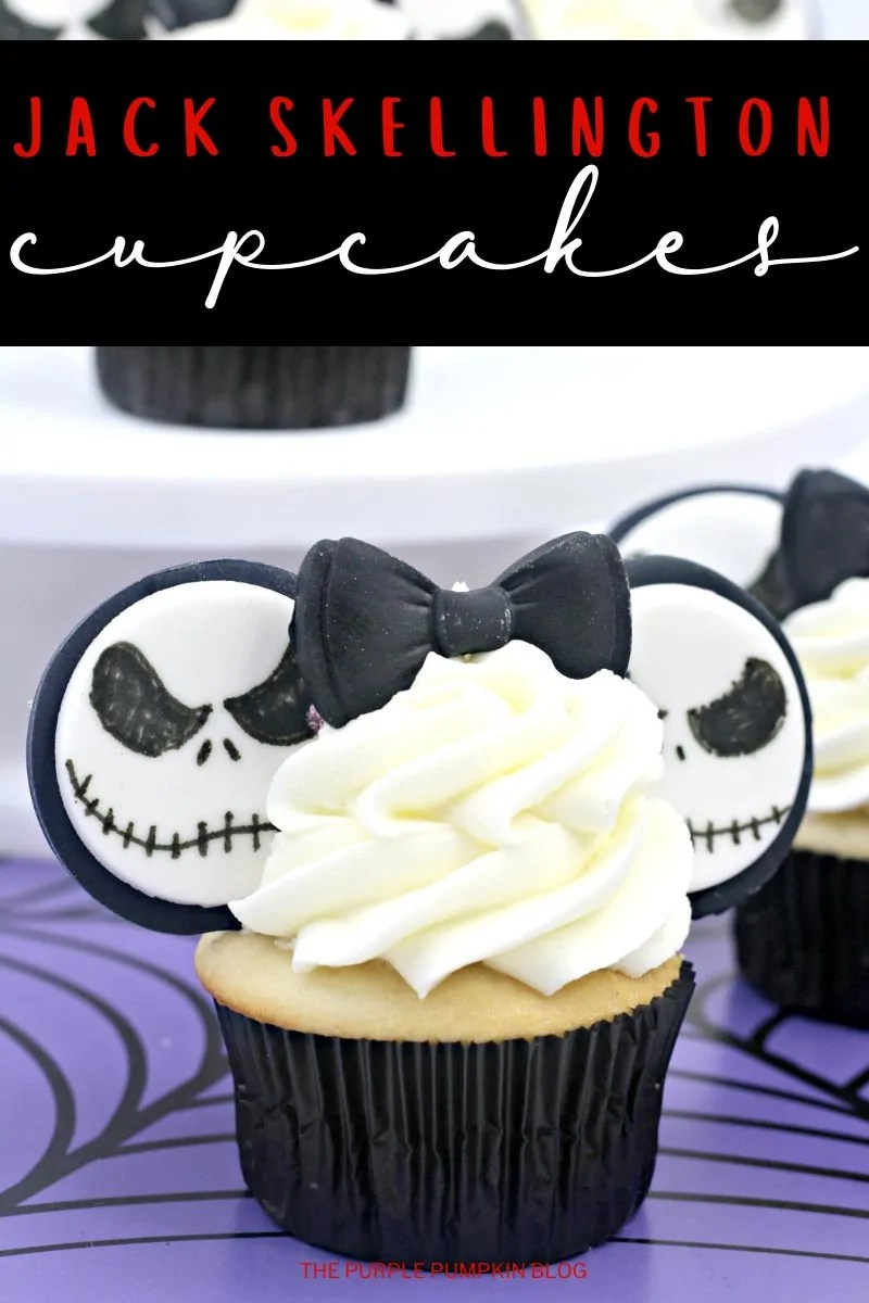 Nightmare Before Christmas Jack Cupcakes