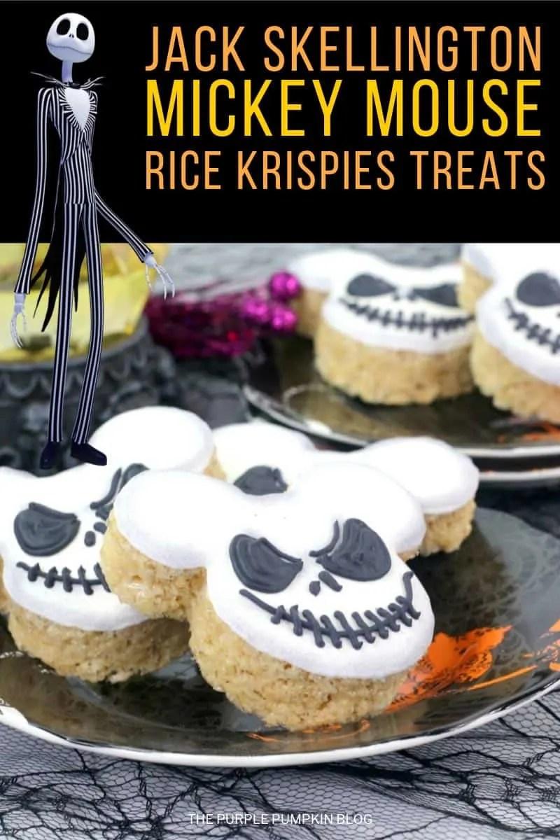Jack Skellington Rice Krispies Treats