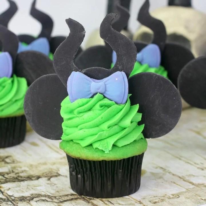 Maleficent Cupcake Recipe