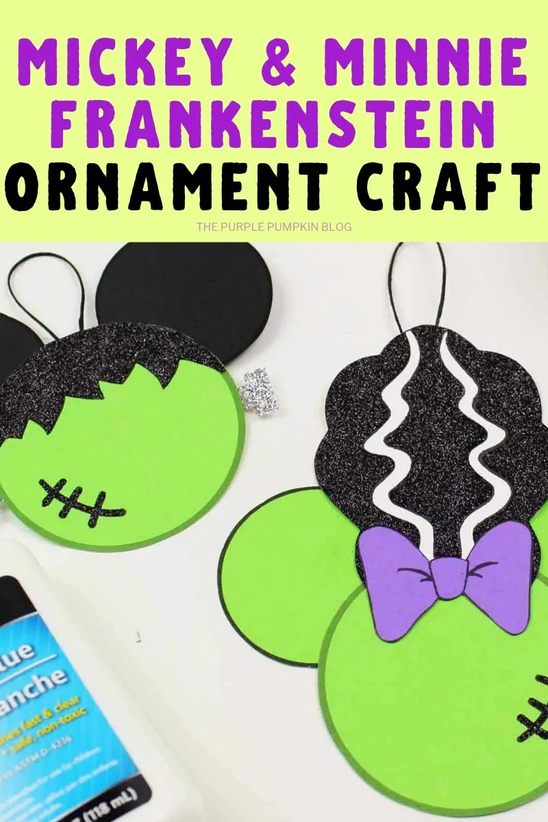 Mickey & Minnie Ornament craft