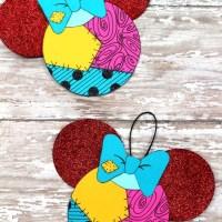 Sally Skellington Ornament Craft