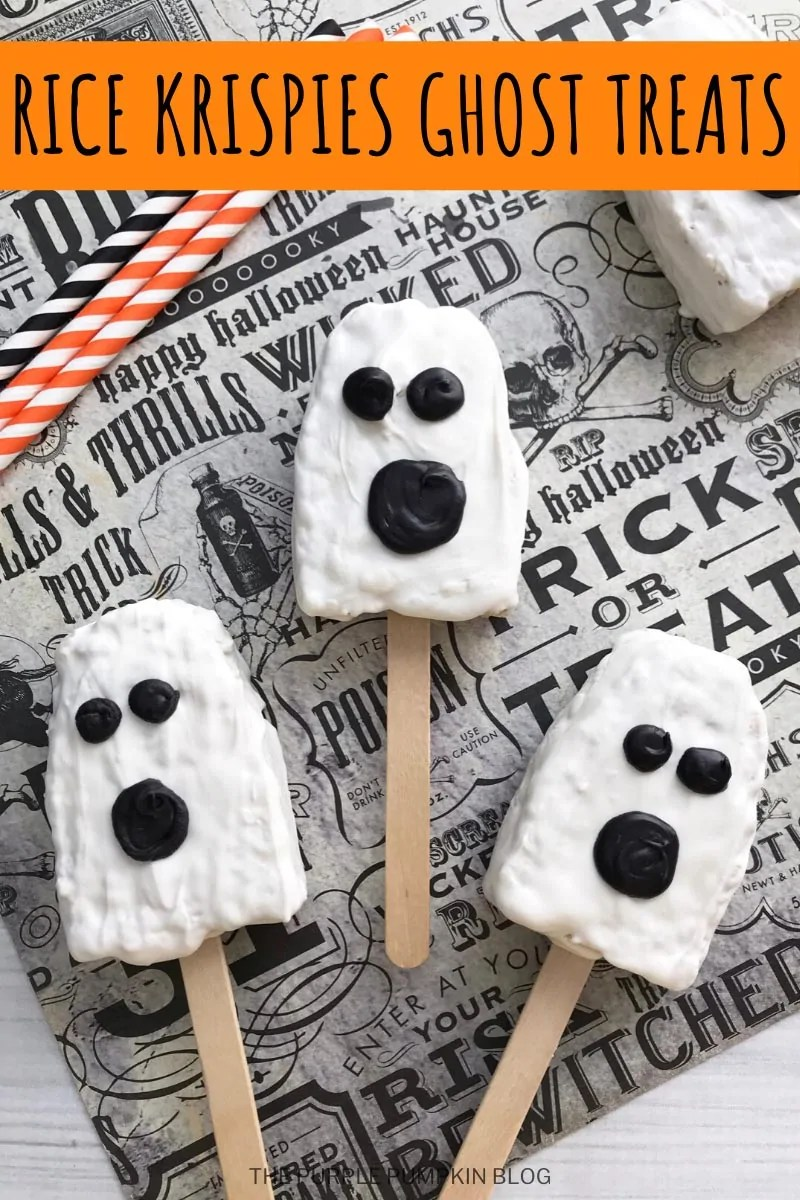 Rice Krispies Ghost Treats
