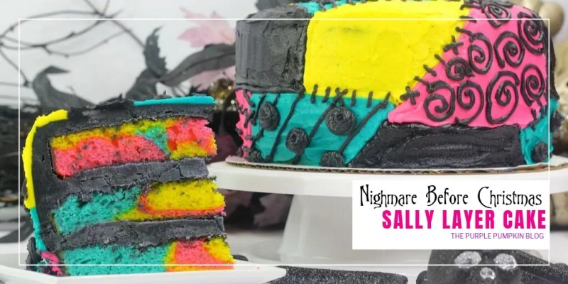 Nightmare Before Christmas Sally Layer Cake