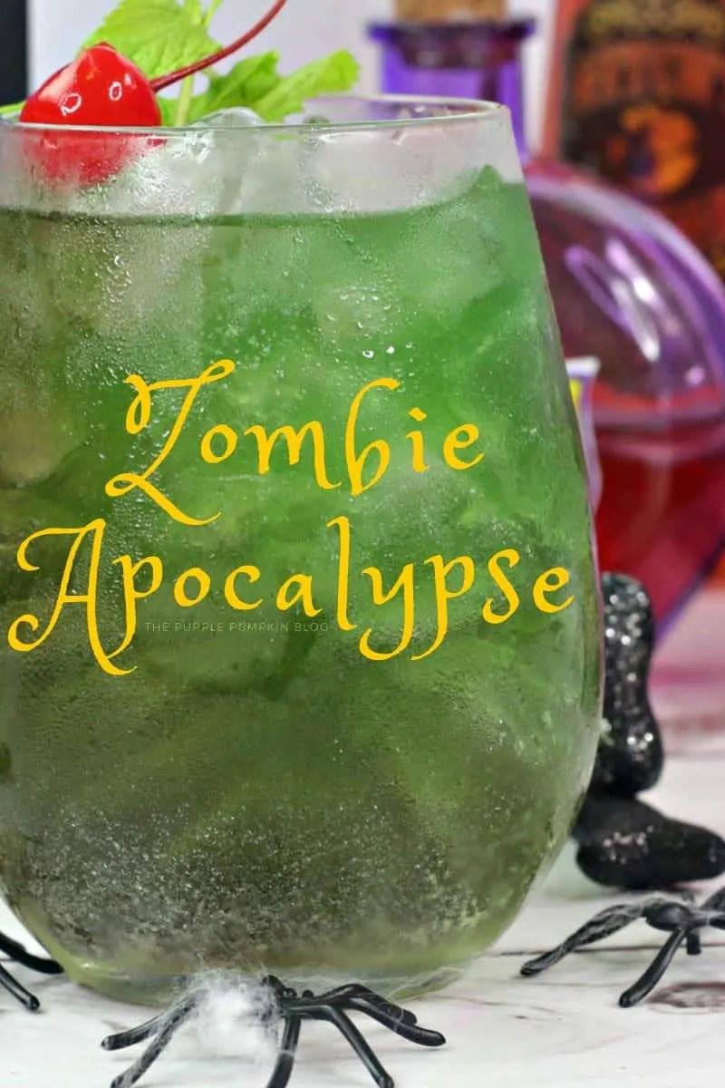 green Zombie Apocalypse cocktail