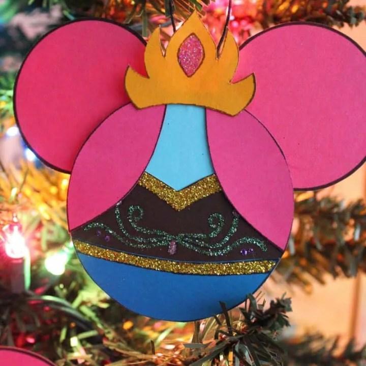 Anna Christmas Ornament Craft