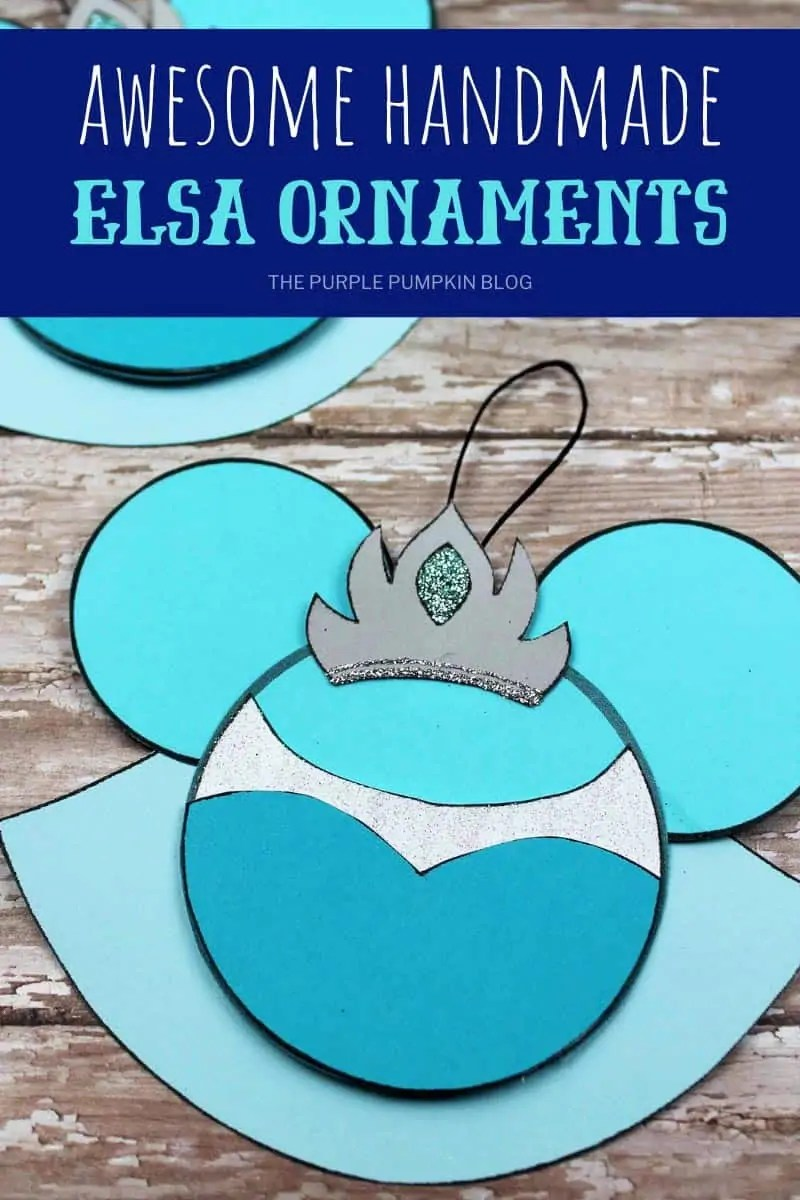 awesome handmade Elsa ornaments