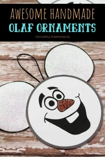 Awesome-Handmade-Olaf-Ornaments