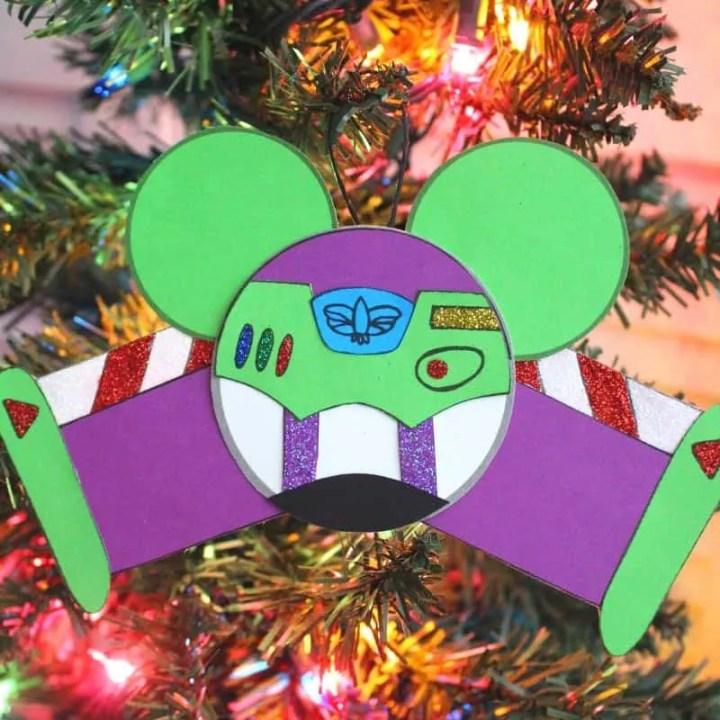 Buzz Lightyear Ornament Craft