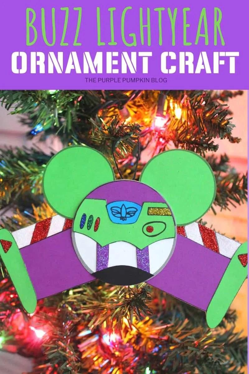 Buzz Lightyear Christmas Ornament Craft