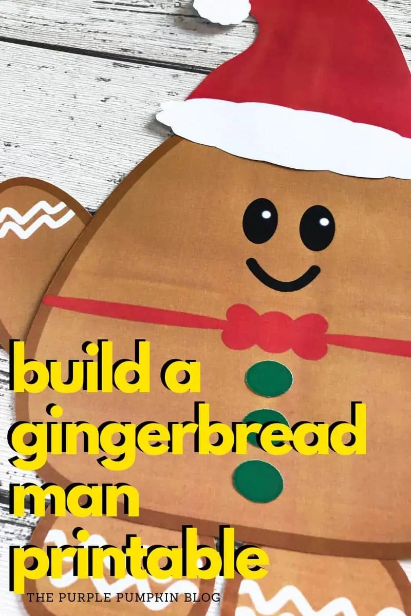 build a gingerbread man printable