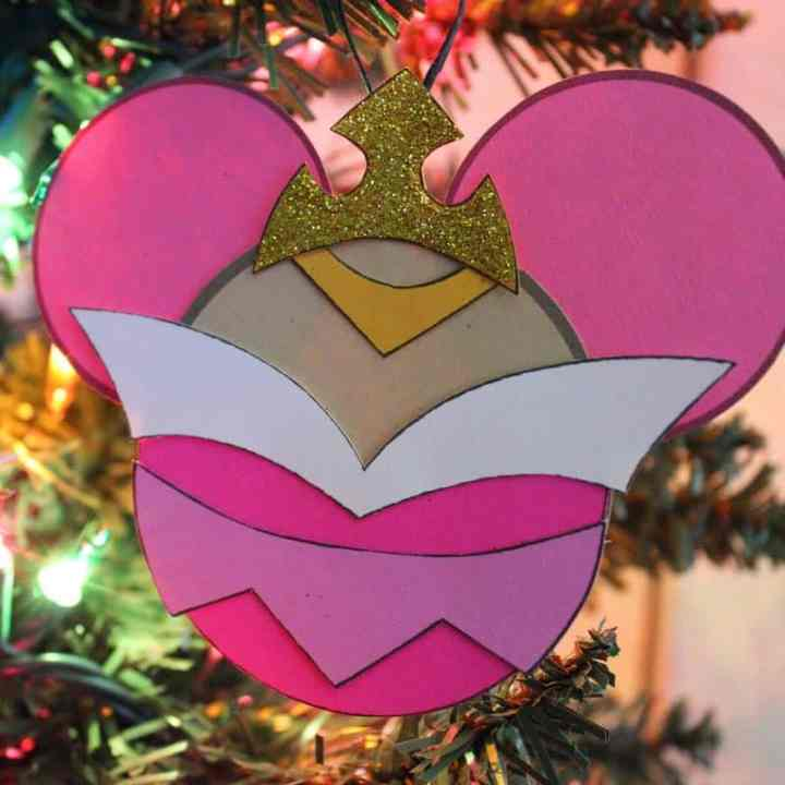 Sleeping Beauty Ornament Craft