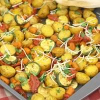 Italian Roasted Vegetables Recipe