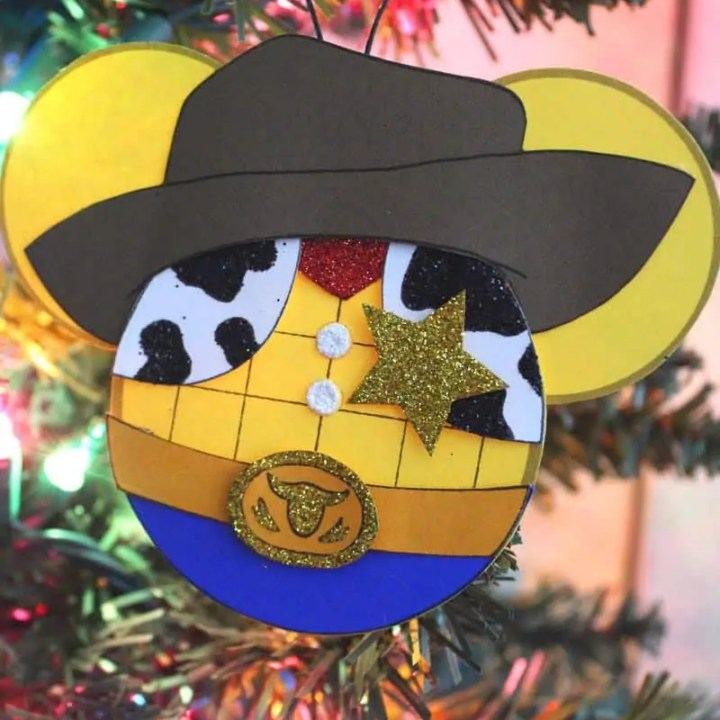 Toy Story Woody Ornament Craft