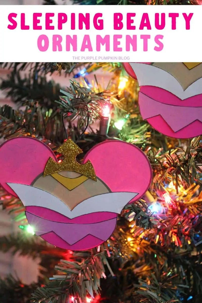 Sleeping Beauty Ornaments