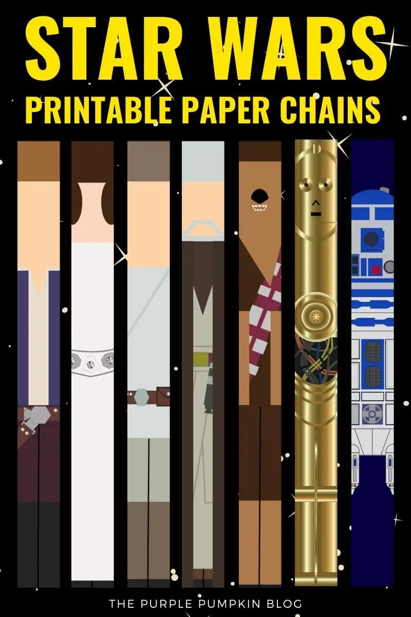 Star Wars Printable Paper Chains