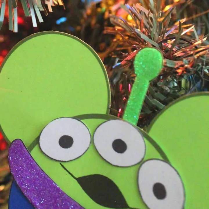 Toy Story Alien Ornament Craft
