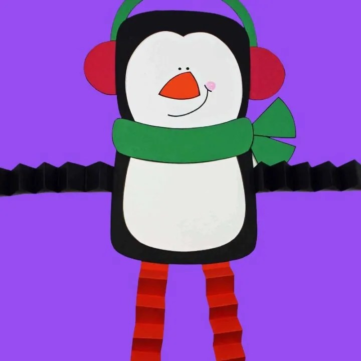 Printable Penguin Paper Craft
