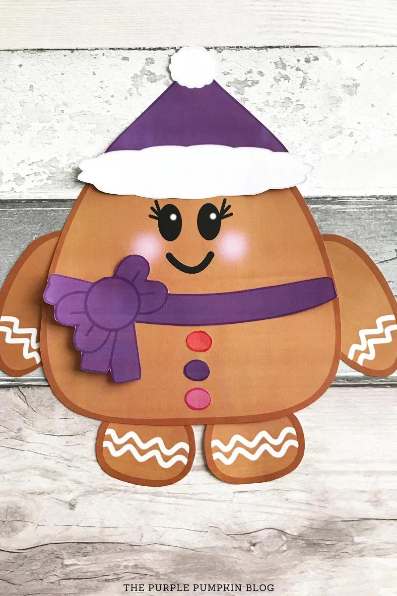 Assembled Gingerbread Girl