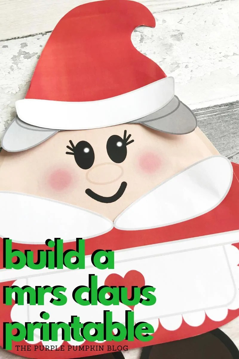 Build a Mrs Claus Printable