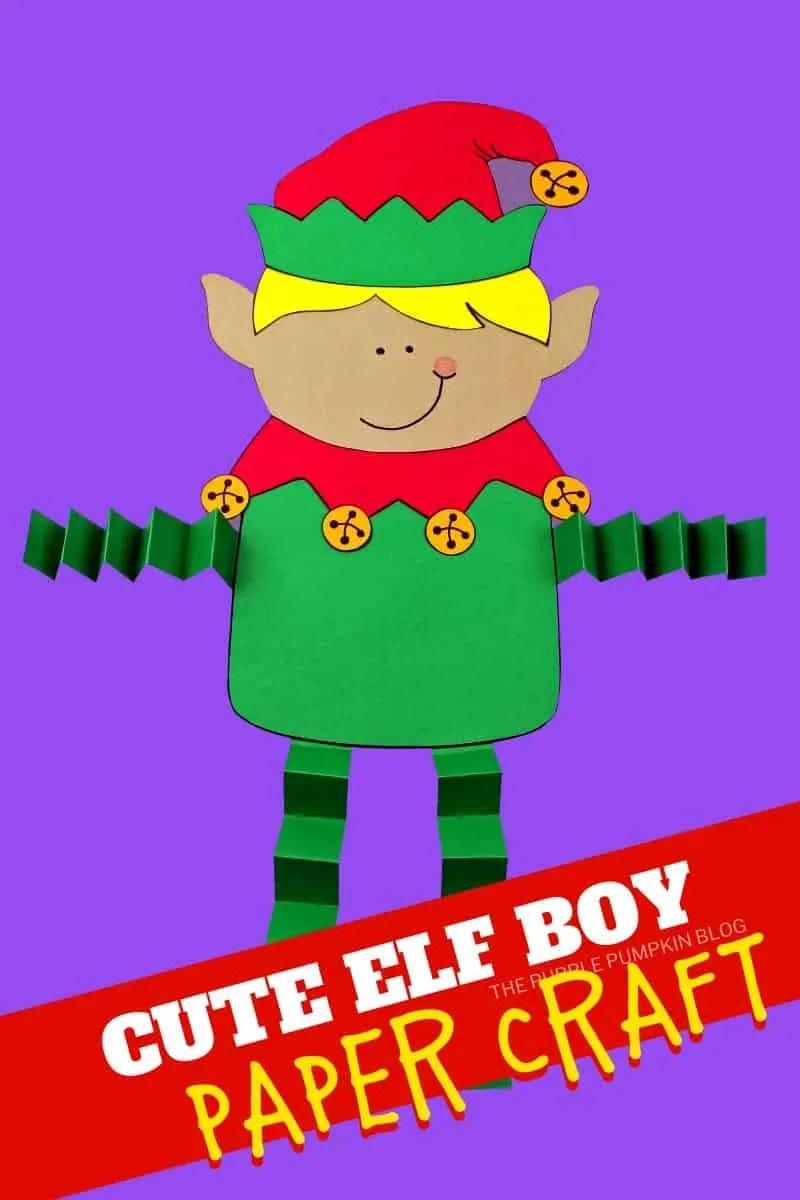 Cute-Elf-Boy-Paper-Craft