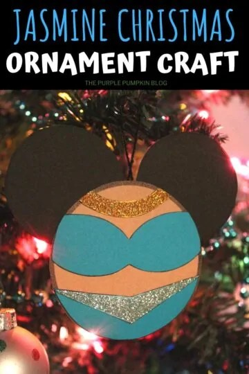 Jasmine Christmas Ornament Craft