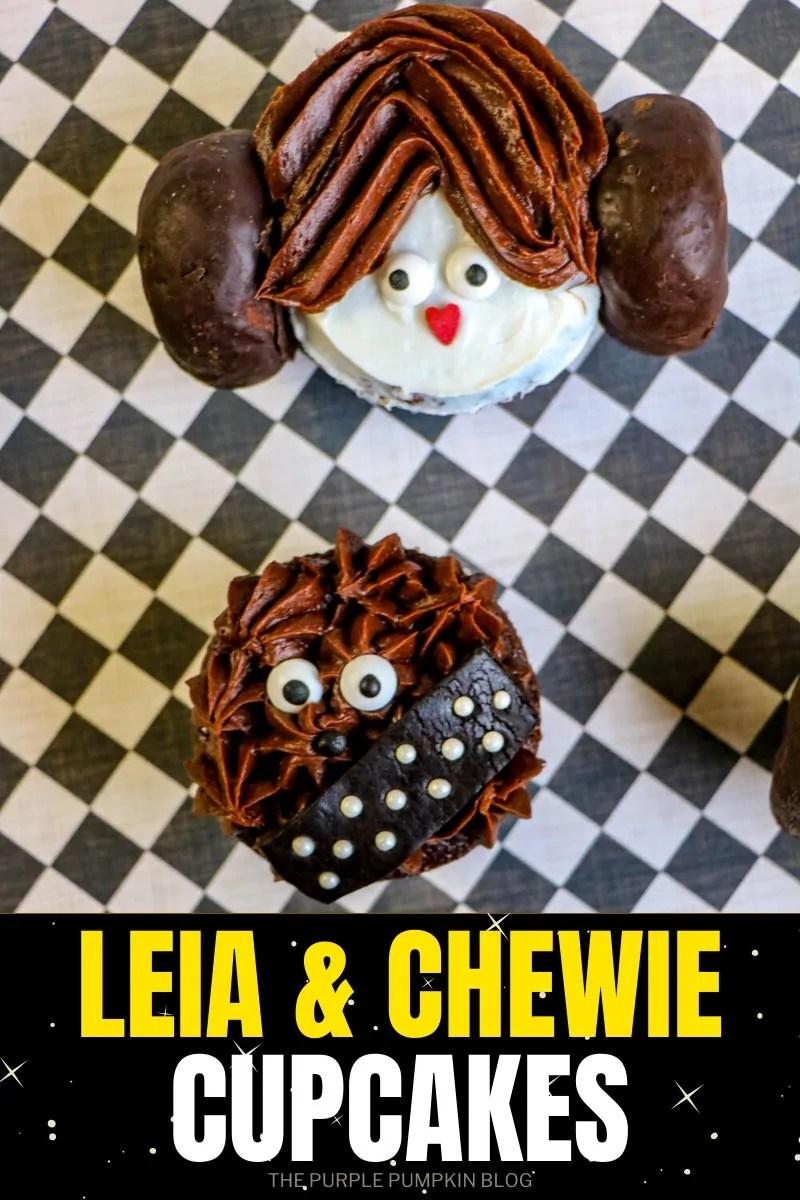 Leia & Chewie Cupcakes