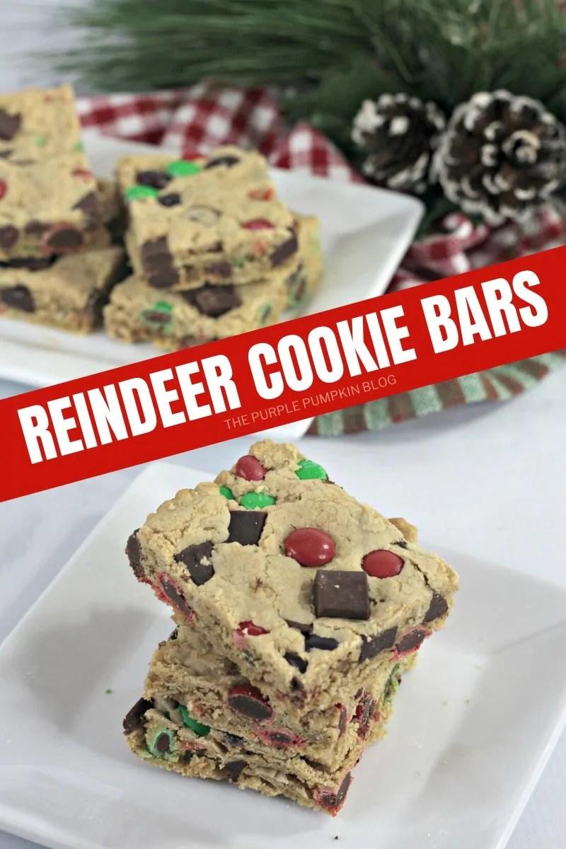 Reindeer Cookies Bars