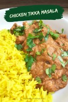 Chicken Tikka Masala Curry and rice