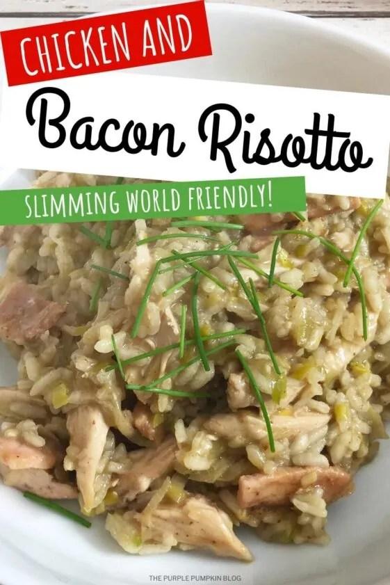 Chicken and Bacon Risotto Slimming World Friendly