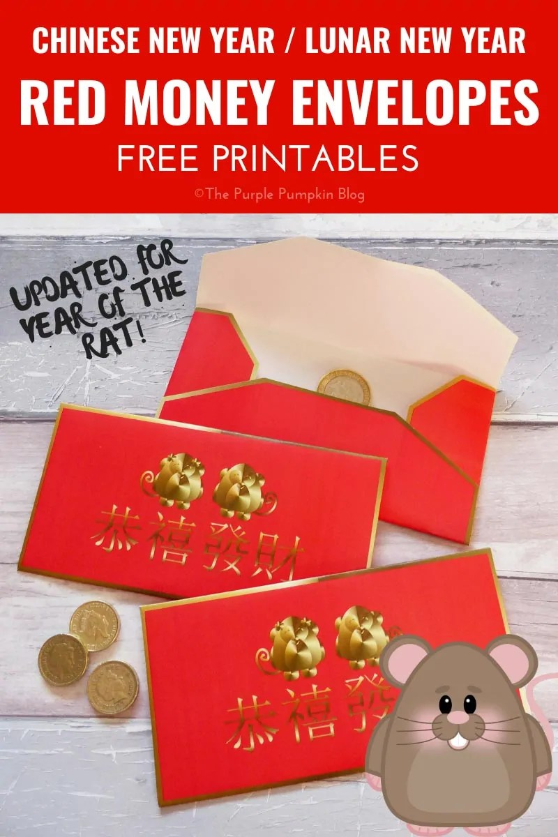 Red Money Envelopes for Chinese New Year