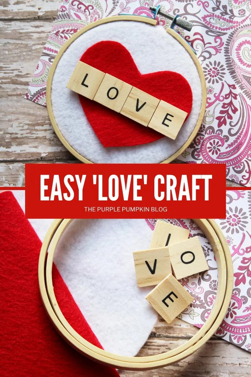 Easy LOVE Craft