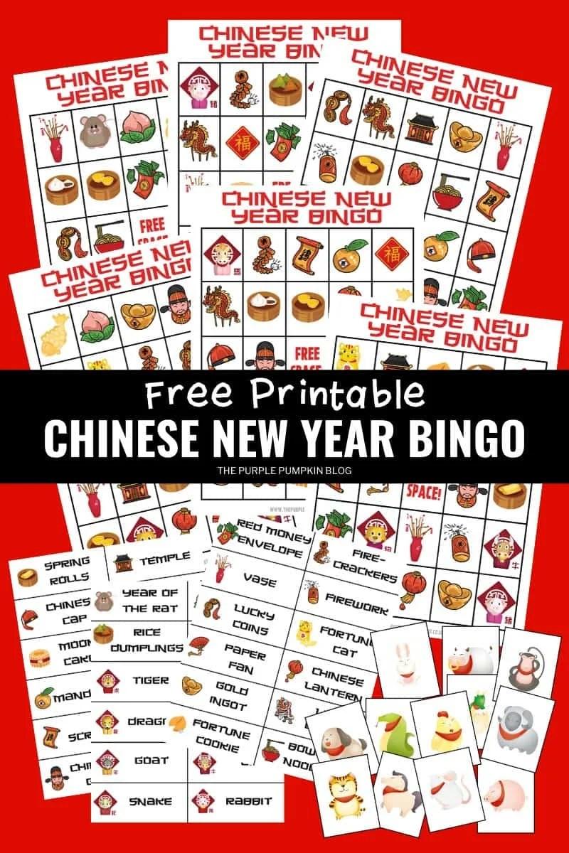 Free Printable Chinese New Year Bingo