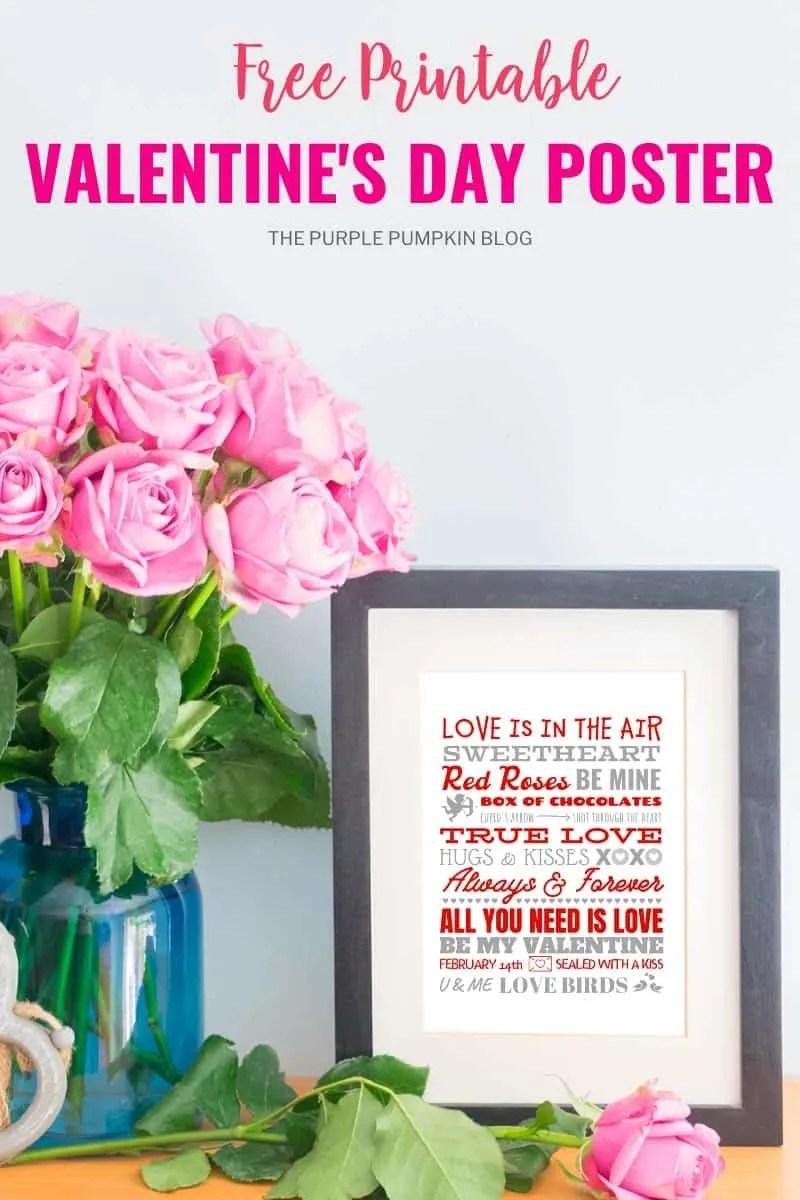 Free Valentine's Day Poster