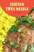 SW Chicken Tikka Masala Curry