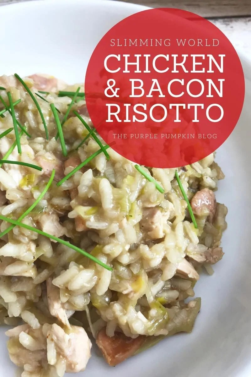 Slimming World Risotto with Chicken and Bacon