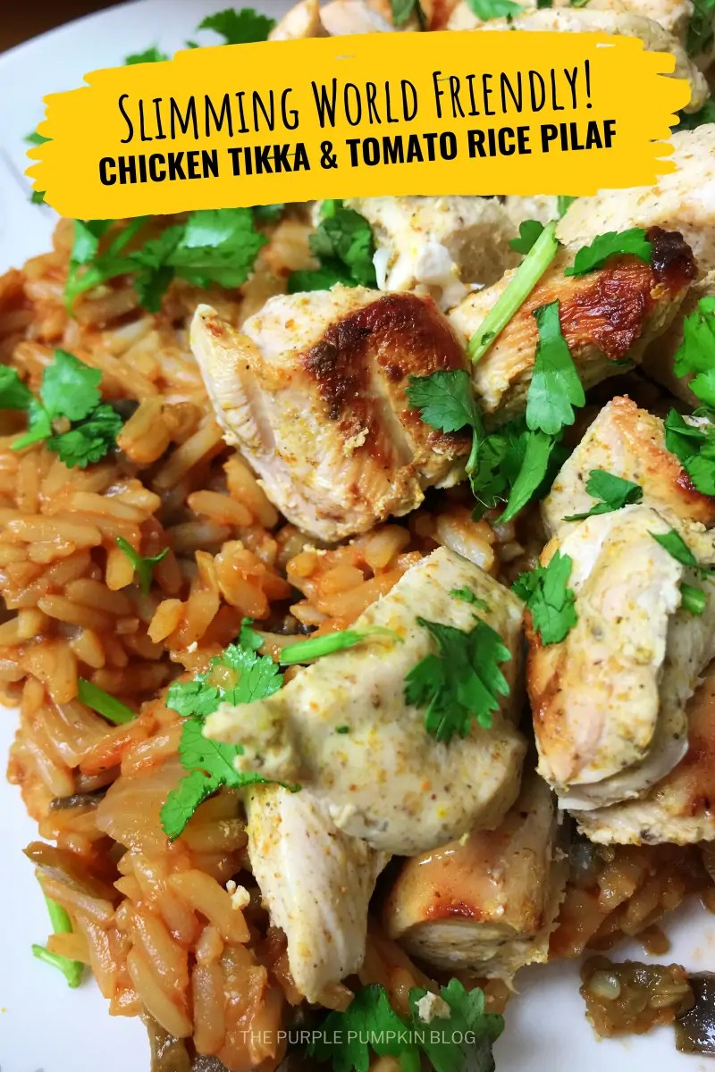Slimming World Friendly! Chicken Tikka & Tomato Rice Pilaf